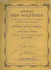 Solfege Des Solfeges - Couverture - Format classique