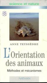 L'Orientation Des Animaux - Couverture - Format classique