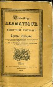 BIBLIOTHEQUE DRAMATIQUE, ou REPERTOIRE UNIVERSEL DU THEATRE FRANCAIS avec des remarques, des notices, et l'examen de chaque pièce - Auteurs du second ordre du siècle de Louis XIV - TOME III (sur la page de titre) ou TOME IV (sur la couverture) - Couverture - Format classique