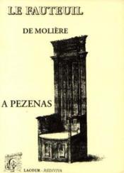 Notice sur le fauteuil de Molière - Couverture - Format classique