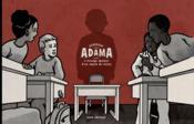 Adama ; l'étrange absence d'un copain de classe - Couverture - Format classique