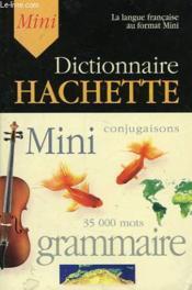 Mini Dictionnaire Hachette - Couverture - Format classique