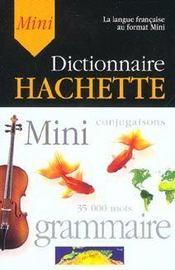 Mini Dictionnaire Hachette - Intérieur - Format classique