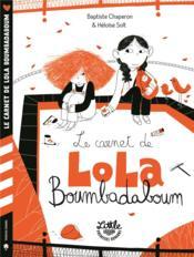Le carnet de Lola Boumbadaboum - Couverture - Format classique