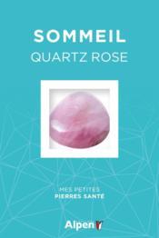 Coffret litho sommeil ; quartz rose - Couverture - Format classique