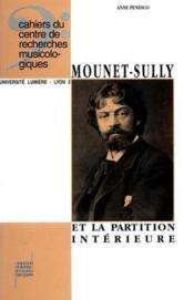 Mounet sully et la partition interieure - Couverture - Format classique