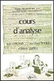 Cours D'Analyse (2e Ed ) - Intérieur - Format classique