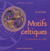 Motifs celtiques a connaitre et creer - Intérieur - Format classique