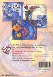 Mosaique idees deco et de cadeaux avec 2 planches patrons - 4ème de couverture - Format classique