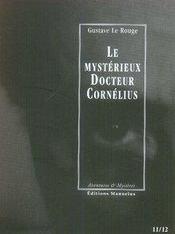 Le mystérieux docteur Cornélius t.11 et t.12 - Intérieur - Format classique