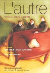 Revue L'Autre N.5-2 ; Ces Objets Qui Soignent - Intérieur - Format classique