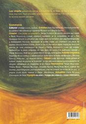 Revue L'Autre N.5-2 ; Ces Objets Qui Soignent - 4ème de couverture - Format classique