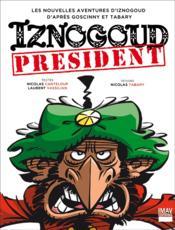 Iznogoud président - Couverture - Format classique