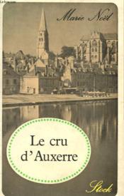 Le Cru D'Auxerre - Couverture - Format classique