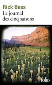 Le journal des cinq saisons - Couverture - Format classique