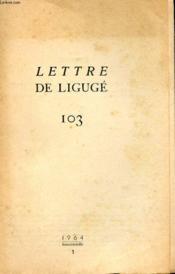 Lettre De Liguge 103 - Couverture - Format classique