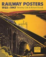 Railway Posters 1923-1947 /Anglais - Couverture - Format classique