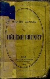 Helene Brunet Moeurs Parisiennes. - Couverture - Format classique