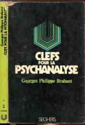 Clefs Pour La Psychanalyse - Collection P.S. N°2 - Couverture - Format classique