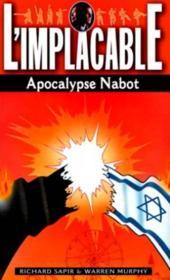 Implacable Apocalypse Nabot - Couverture - Format classique
