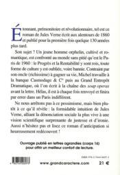 Paris au XX siècle - 4ème de couverture - Format classique