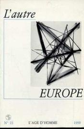 L'Autre Europe N23 - Couverture - Format classique