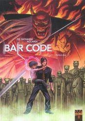 Bar Code T.1 ; L'Enfant Dieu - Intérieur - Format classique