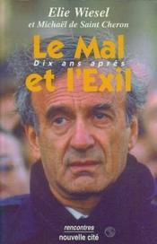 Le mal et l'exil dix ans apres - Couverture - Format classique