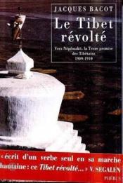 Tibet revolte - Couverture - Format classique