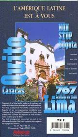 Equateur 1997-1998, le petit fute (edition 2) - 4ème de couverture - Format classique