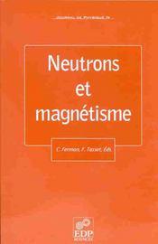Jdn 9 - Neutrons Et Magnetisme - Intérieur - Format classique