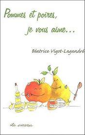Pommes et poires, je vous aime... - Intérieur - Format classique