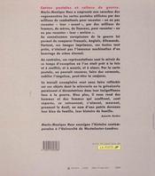 Histoire De Famille ; Cartes Postales Et Culture De Guerre 14-18 - 4ème de couverture - Format classique