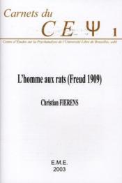 L'homme aux rats (Freud 1909). - Couverture - Format classique