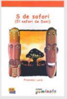 S de safari (el safari de Dani) - Couverture - Format classique