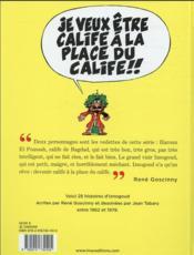Iznogoud T.1 ; 25 histoires de Goscinny et Tabary de 1962 à 1978 - 4ème de couverture - Format classique