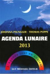 Agenda lunaire 2013 - Couverture - Format classique