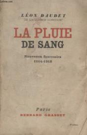 La Pluie De Sang. - Couverture - Format classique