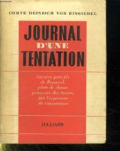 Journal D Une Tentation. - Couverture - Format classique