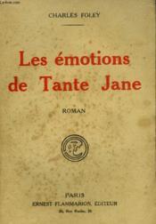 Les Emotions De Tante Jane. - Couverture - Format classique