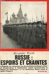 Russie : Espoirs Et Craintes - Couverture - Format classique