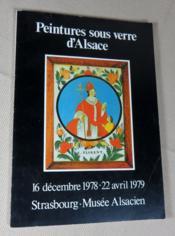 Peintures sous verre d'Alsace. - Couverture - Format classique