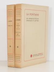 [ Lot de 2 vol. numérotés ] Les Amours de Psyché - Opuscules et lettres ; Théâtre - Couverture - Format classique