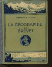 La Geographie Du Brevet Elementaire - Couverture - Format classique