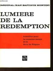 Lumiere De La Redemption - Couverture - Format classique