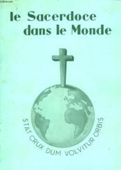 Le Sacerdoce Dans Le Monde - Couverture - Format classique
