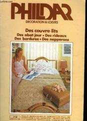 Phildar - Decoration & Loisirs N°3 - Couverture - Format classique