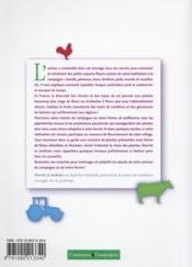 Maisons de campagne & fermes fleuries ; comment aménager et embellir votre jardin - 4ème de couverture - Format classique