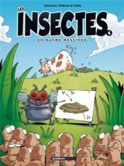 Les insectes en bande dessinée T.4 - Couverture - Format classique