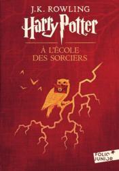 Harry Potter T.1 ; Harry Potter à l'école des sorciers - Couverture - Format classique